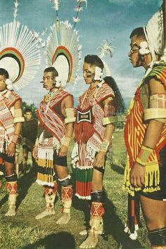 Angami warriors National Geographic | February 1955
