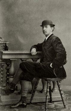 Tsarevich Nicholas Alexandrovich   c.1860's
