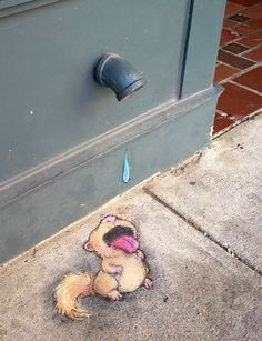 by David Zinn, Ann Arbor, MI, 7/15 (LP)