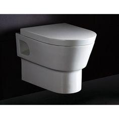 EAGO Square Modern Dual Flush Elongated Toilet 1 Piece | AllModern