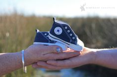 Maternity | Baby Boy | Baby Booties | Converse | Outdoor Photo Shoot | Baby Announcement | Baby