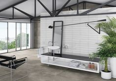 Enjoy our porcelain and ceramic tiles floors and walls in settings of bathrooms, kitchens , livingrooms and exteriors Ceramic Floor Tiles, Wall Tiles, Background Tile, Style Tile, Home Decor Inspiration, Relax, Minimalist, Interior Design, Interior Ideas
