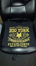 ZOO YORK Sz Large Black top New York NYC Unbreakable100 Proof Short Sleeve    $7.99 http://stores.ebay.com/LeCaze-Boutique