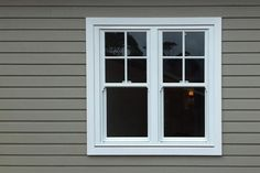Colonial Style Windows | Aluminium Double Hung : Colonial Bars : Top Sash Only