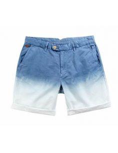 MEN-LEELOO Bi-Colour Basic Shorts @Gail Regan Truax://www.shopjessicabuurman.com