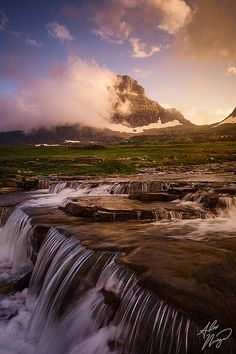 Glacier National Park's Mount Reynolds