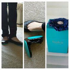 My first pair of #Tieks @Tieks! And I am in love!