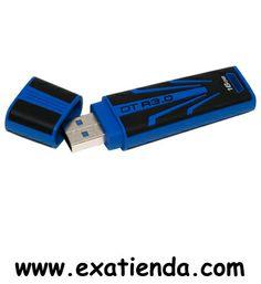 Ya disponible Memoria USB 3.0 Kingston 16gb    (por sólo 23.89 € IVA incluído):   -Capacidad: 16 GB -Interface: USB 3.0 -Velocidad lectura: 70MB/s -Velocidad escritura: 30MB/s -Otros:-  -P/N:DTR30/16GB Garantía de 24 meses.  http://www.exabyteinformatica.com/tienda/1238-memoria-usb-3-0-kingston-16gb #memoria #exabyteinformatica