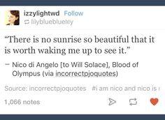 Tumblr; Percy Jackson; Nico di Angelo; Will Solace
