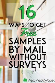 16 Ways to Get Free Samples by Mail Without Surveys Theses sites don't require you to spend hours completing surveys in order to get free samples. Free samples can help you try new products and save money. Free Samples Without Surveys, Free Samples By Mail, Free Makeup Samples, Free Stuff By Mail, Get Free Stuff, Free Baby Stuff, Free Baby Samples, Free Coupons By Mail, Free Mail