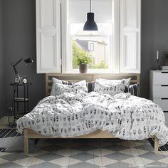 Važno je da za sebe izabereš krevet iz kojeg se nikad nećeš poželjeti dići. www.IKEA.hr/spavaca_soba