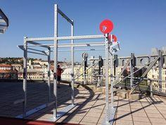 77 GYM • References Outdoor galvanized power rack @Litewellness Budapest, Hungary Power Rack, Budapest Hungary, Gym, Building, Travel, Outdoor, Outdoors, Viajes, Buildings