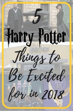 5 Harry Potter Things to Be Excited for in 2018! ⚡