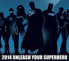 Unleash your super hero