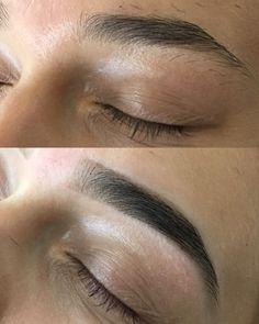 Eyebrow Makeup Tips, Thick Brows, Eyebrow Growth, Threading Eyebrows, Perfect Eyebrows, Eyelashes, Hair Beauty, Eyebrow Shapes, Make Up