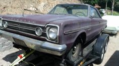 Black Plate Belvedere: 1966 Plymouth Project - http://barnfinds.com/55971-2/