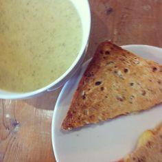 Soupe brocoli/gorgonzola + Cheesy
