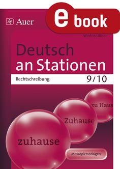 Deutsch an Stationen | Rechtschreibung | unterrichtsmaterialien24.de