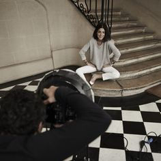 Fine Collection x Man Repeller #streestyle #fashion #finecollection #manrepeller #backstage #bts