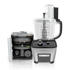 BLACK+DECKER FP6000 Performance Dicing Food Processor with Adjustable Speed Control, Black/Stainless Steel Food Processor Reviews, Best Food Processor, How To Make Smoothies, How To Make Drinks, Ninja Professional Blender, Food Chopper, Frozen Cocktails, Best Blenders, Hand Blender