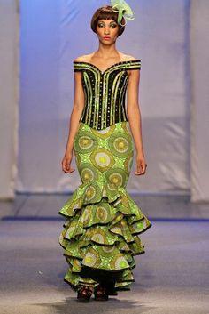 Subira Wahure Official African Couture Blog: KINSHASA FASHION WEEK;PRINTS,PRINTS AND MORE PRINTS