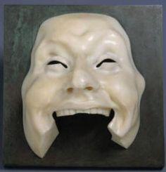 Adolfo Wildt - Maschera dell'Idiota (1910) - Google Search