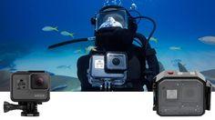 Al is de GoPro HERO5 Black 10m waterdicht toch kan een (onderwater)behuizing handig of wenselijk zijn, maar welke behuizing kan je het beste kopen?