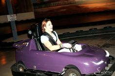 Rocky go carting!