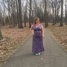Blogger Curvy Girl on the Run in the Adele dress