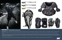 NIKE Vapor LT Complete Lacrosse Line by John Vajda at Coroflot.com