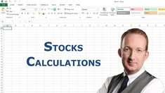*Excel Formulas For Stocks Calculations* Peter Kalmstrom shows some basic Excel formulas that are useful when you want to calculate how the values of your stocks have changed. Also refer to http://www.kalmstrom.com/Tips/ExcelStocksFormulas.htm