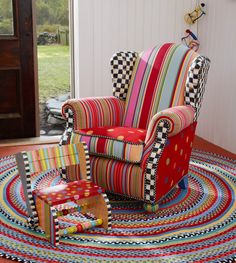 Be still my heart. Meet the Wee Wing Chair.