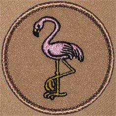 Pink Flamingo Patrol Patch (#349)
