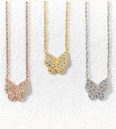 Butterfly necklace - Wishlist London