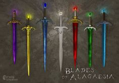 Blades in the Inheritance Cycle. My favorite book series