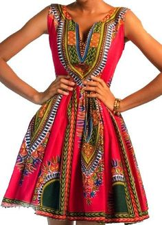 Hey, I found this really awesome Etsy listing at https://www.etsy.com/listing/184921967/african-dashiki-summer-dress