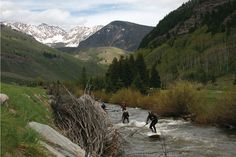{Brian Keaulana in the lead. Photo courtesy Standup Journal Magazine} Our neighbors in Vail...
