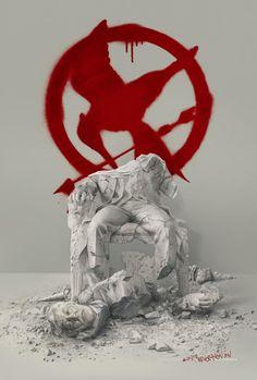 New 'The Hunger Games: Mockingjay – Part 2′ Poster Destroys President Snow
