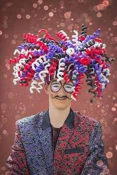 Buy foam in all sorts of fun colours in the FollyFoam Webshop! Foam Wigs, Fancy Dress, Dress Up, Fancy Hats, Wig Making, Cosplay, Partys, Foam Crafts, Costumes