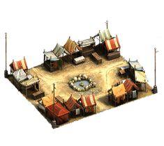 Medieval Market Square