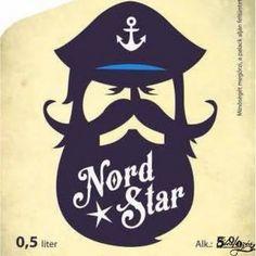 Nord Star világos, kézműves sör. http://edeserzes.hu/lager-vilagos/nord-star-0-5l