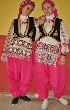 Yianna Costume Metaxades Region Western Thrace Greece Greek Lyceum South