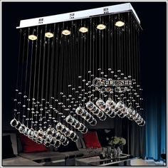 Find More Chandeliers Information about Fast Shipping Crystal Chandelier Light for Dining room, bedroom, foyer and ceiling MD8495 crystal curtain wave,High Quality chandelier light,China light bulbs free shipping Suppliers, Cheap light in the box free shipping from Meerosee Lighting----Making life more colorful ! on Aliexpress.com