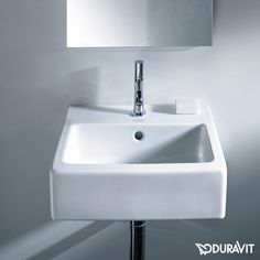 Duravit Vero Handwaschbecken weiß mit 1 Hahnloch