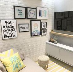 Decoração de Sala Simples e Barata - Renove Sua Sala Com 70 Fotos
