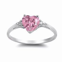 Patsy: Heart-cut Pink Ice on Fire CZ and IOF CZ Promise Friendship Ring 925 Silver, 3209A sz 8.0 1000 Jewels http://www.amazon.com/dp/B00CMHTDXY/ref=cm_sw_r_pi_dp_8Qw7vb0TP7A23