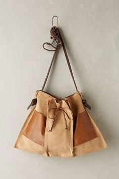 Specialty Dry Goods Pinch-Pleat Messenger Bag #AnthroFave