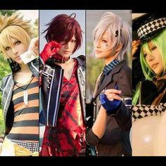 Toma, Shin, Ikki, Ukyo, cosplay