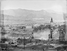 The Antlers Hotel in Colorado Springs burns down on October 1, 1898.