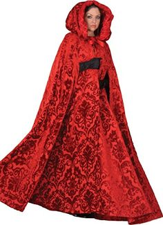 Deluxe Red Riding Hood Victorian Theatrical Cape Tabi's Characters http://www.amazon.com/dp/B00FP44KRU/ref=cm_sw_r_pi_dp_A.e8vb1Z0H0ZH